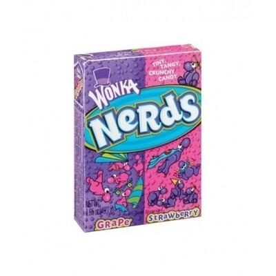 Wonka Nerds Strawberry/ Grape 46.7gr (Paquete de 5 unidades)