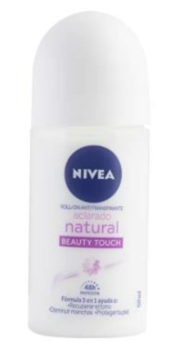 Nivea Desodorante Roll-On Aclarado Natural Beauty 50ml