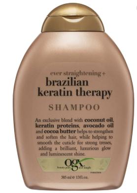 Shampoo Organix Brazil Keratine Therapy 13oz