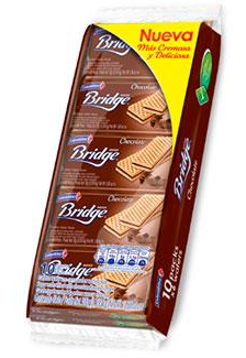 Galletas Colombina Bridge Chocolate 10Paq 30 gr