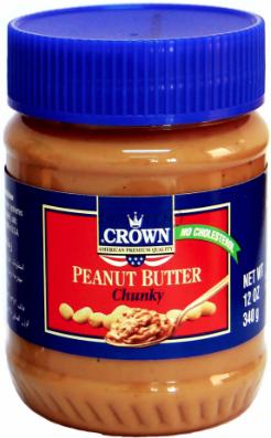 Crema de Mani Crown (Peanut Butter) Chunky 340 gr