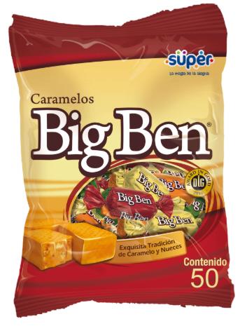 Caramelos Big Ben 50 unidades