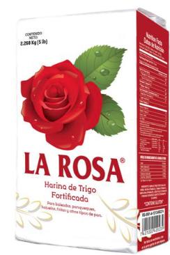 Harina de Trigo La Rosa 5 Lbs