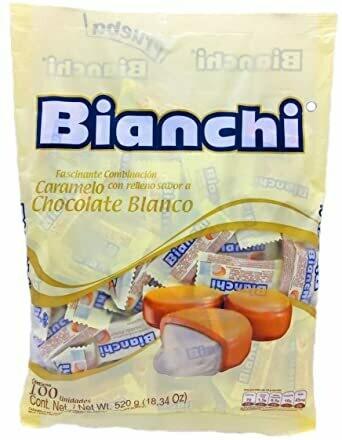 Chocolate Blanco Bianchi 100 unidades
