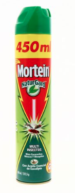 Mortein Multi Insectos Citronela 450ml