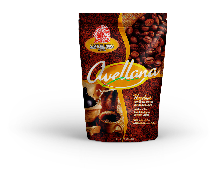 Cafe Indio Avellana Molido Val 8oz