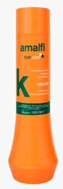 Crema Suavizante Conditioner Keratina Anti-Encrespamiento AMALFI 1000ml
