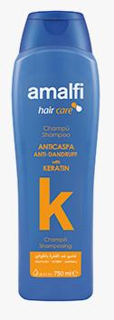 Shampoo AntiCaspa Keratina AMALFI  750ml