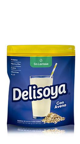 Bebida de Soya Delisoya sin Lactosa Con Avena 360g
