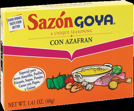 Sazonador Sazon Goya con Azafran 1.41oz (40gr)