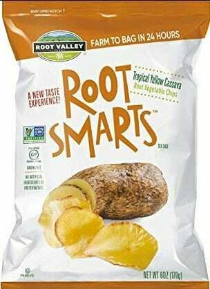 Vegetable Chips - Tropical Yellow Cassava Root Smarts
