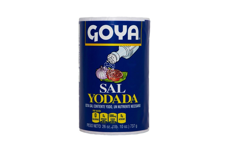 Sal Yodada Goya 26oz (1Lb. 10 oz) 737gr
