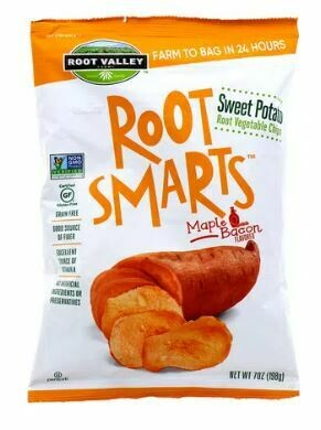 Vegetable Chips - Camote con Sabor Tocino Sweet Potato Root Smarts