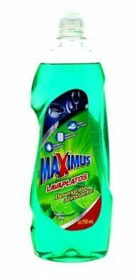 Lavaplatos MAXIMUS Limon Liquido 750ml