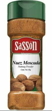 Nuez Moscada SASSON 45g
