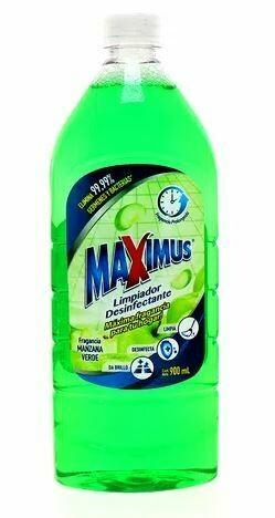 Desinfectante MAXIMUS Manzana verde 900ml