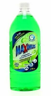 Desinfectante MAXIMUS Manzana verde 900ml
