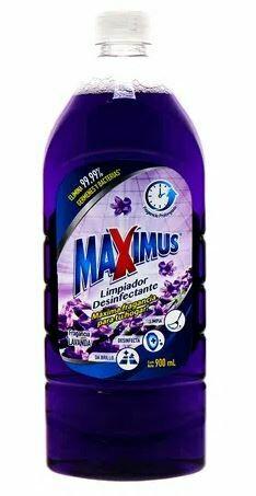 Desinfectante MAXIMUS Lavanda 900ml