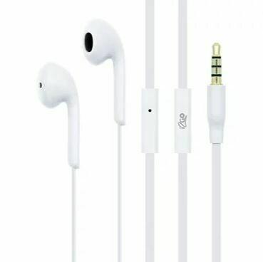 Audifono Essential con Microfono Blanco i2GO