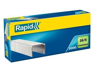 Grapas Standard 26/6 Blue Rapid Caja/5000