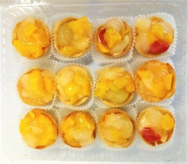Tartaleta De Frutas (12 Unidades) Tamaño Boquita