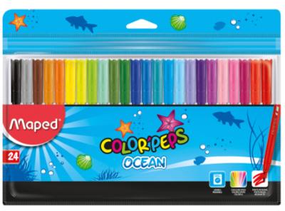 Marcador Lav 24 Color Ocean Maped