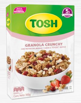 Cereal Tosh Yogurts Griego 300g