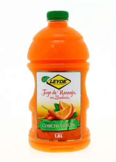 Jugo de Naranja Zanahoria Leyde Cosecha Especial 1.8L