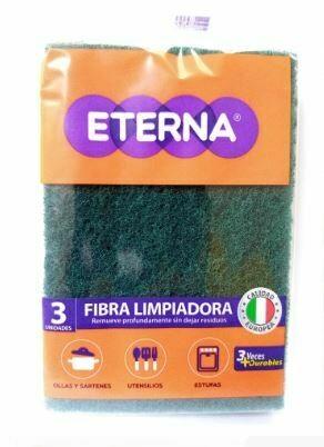 Fibra Limpiadora Eterna 3 unidades (10X15cm)