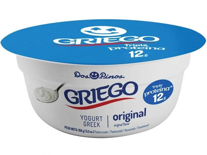 Yogurt Dos Pinos Deligurt Batido Griego Original 150gr