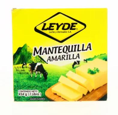 Mantequilla Amarilla Leyde 454gr