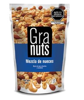 Mezcla de Nueces Granuts 200g