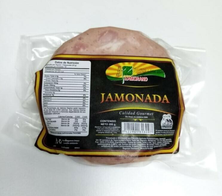 Jamonada El Zamorano Paquete 200gr