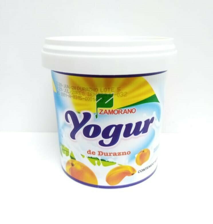 Yogurt de Durazno El Zamorano Vaso 150ml