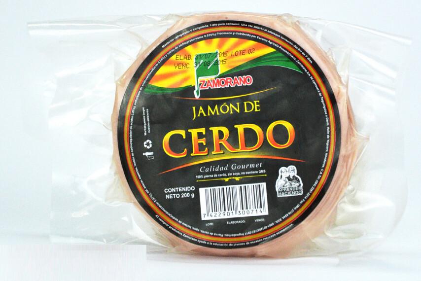 Jamon de Cerdo El Zamorano Paquete 200gr
