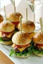 Hamburguesa de Carne (12 Unidades) Tamaño Boquita