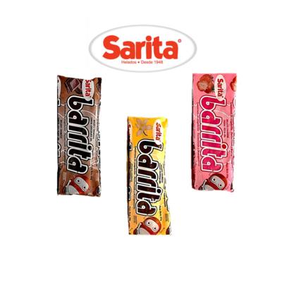 Barrita Surtida Sarita 3-PACK (Vainilla, Chocolate y Fresa)