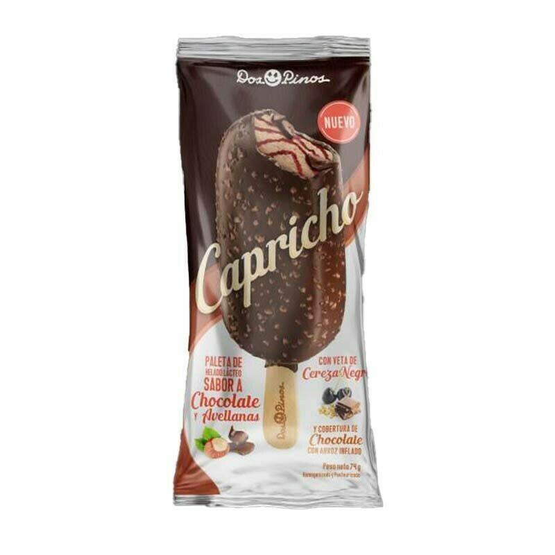 Paleta Capricho chocolate 74g