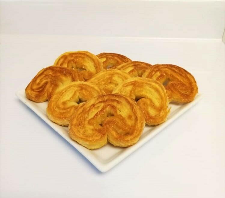 Orejas De Milhojas (12 Unidades) Tamaño Boquita
