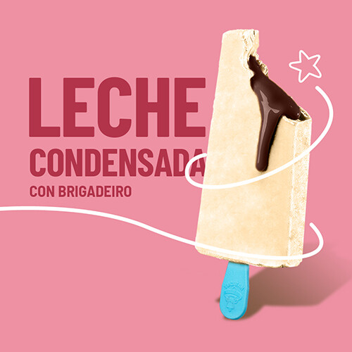 Paleta de Leche Condensada con Relleno Brigadeiro (YUCATAN)