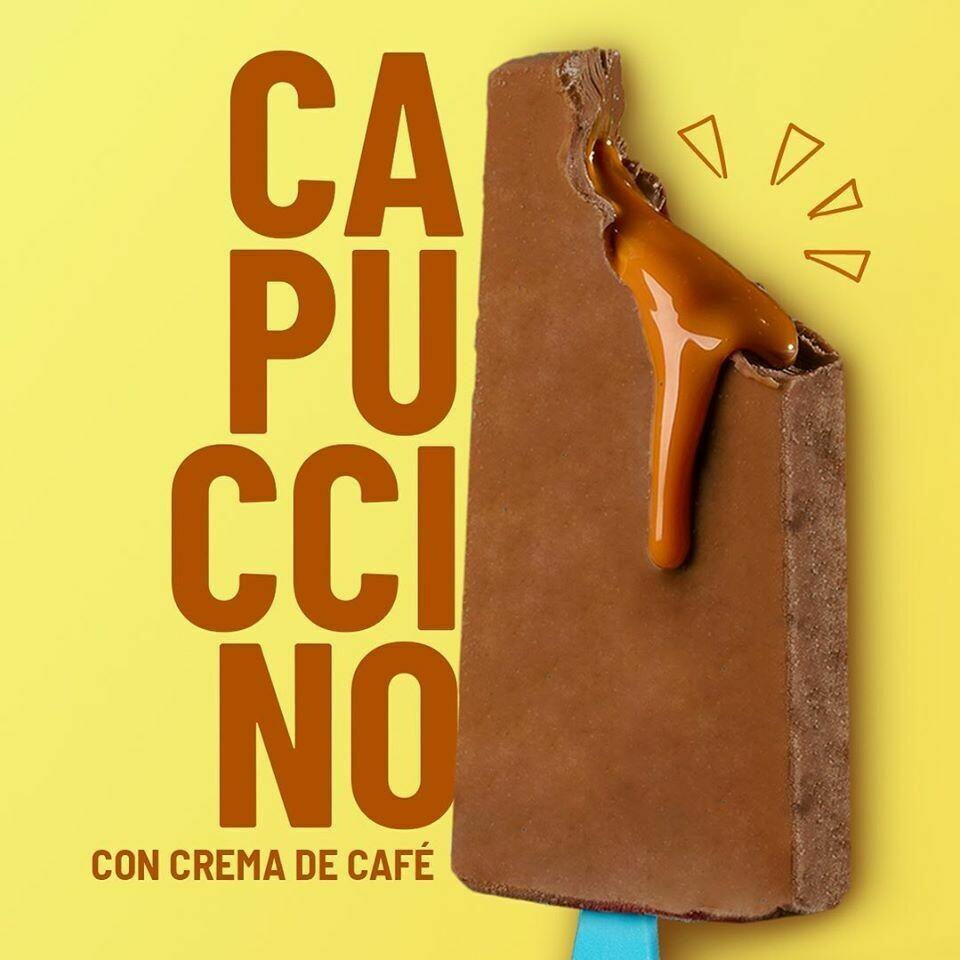 Paleta de Cappuccino con Relleno de Crema de Cafe (YUCATAN)