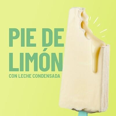 Paleta de Pie de Limon con Relleno de Leche Condensada (YUCATAN)