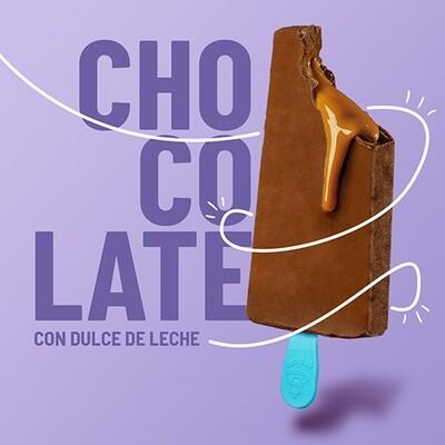 Paleta de Chocolate con Relleno Dulce de Leche (YUCATAN)
