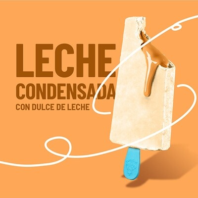 Paleta de Leche Condensada con Relleno Dulce de Leche (YUCATAN)