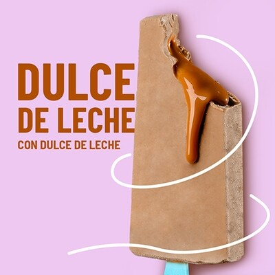 Paleta de Dulce de Leche con Dulce de Leche (YUCATAN)