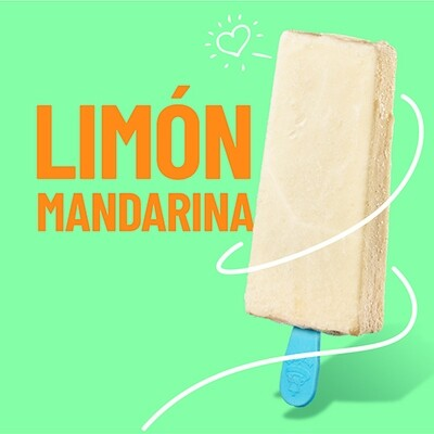 Paleta de Limon Mandarina (YUCATAN)