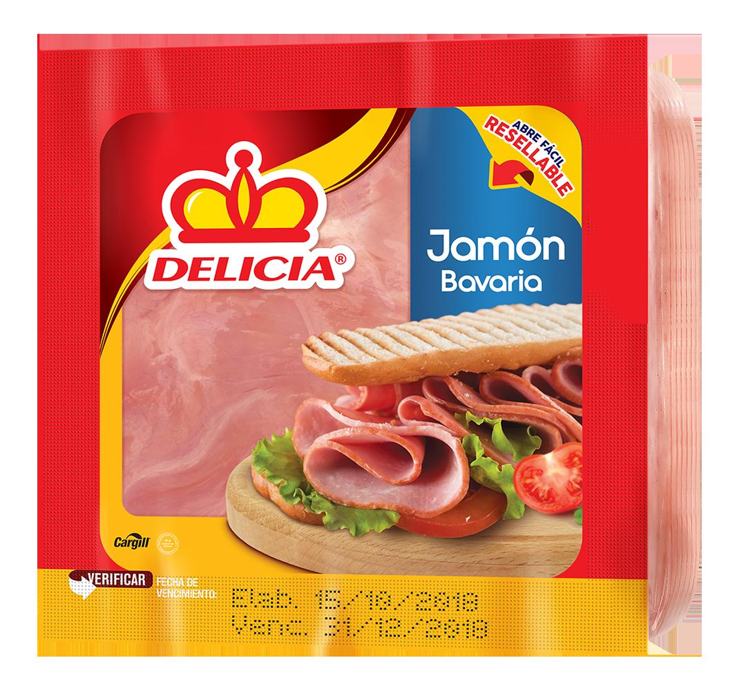 Jamon Bavaria 198gr Paquete Delicia