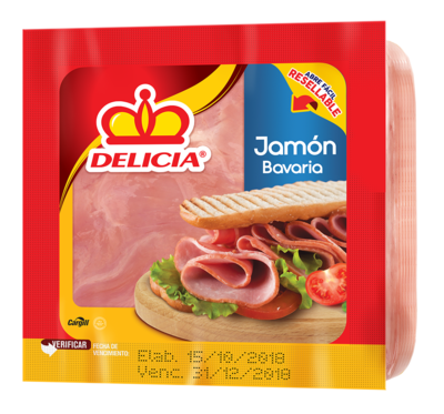 Jamon Bavaria 247gr Paquete Delicia