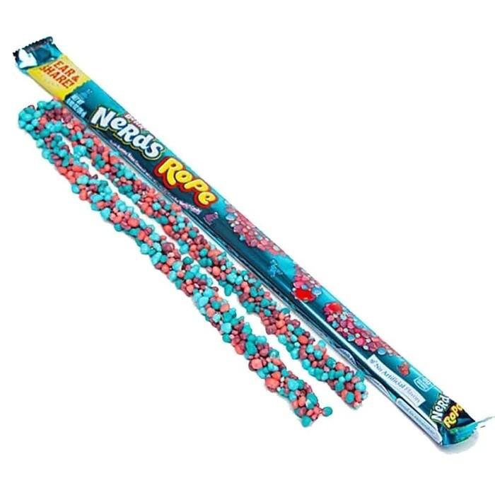 Wonka Nerds Rope Berry 0.92oz ( Paquete de 5 unidades)