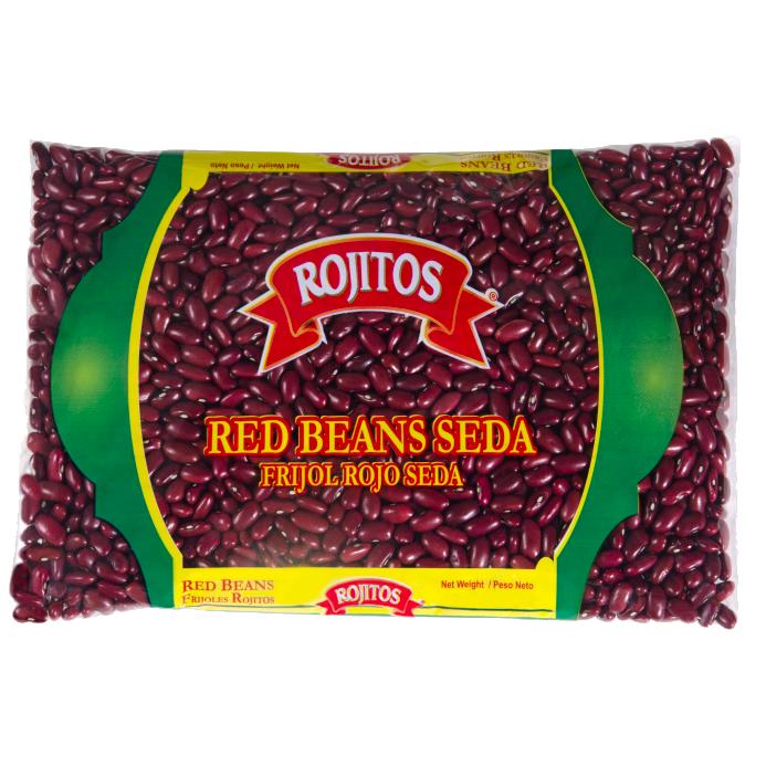 Frijoles Rojos Seda en Grano Rojitos 4 Lbs